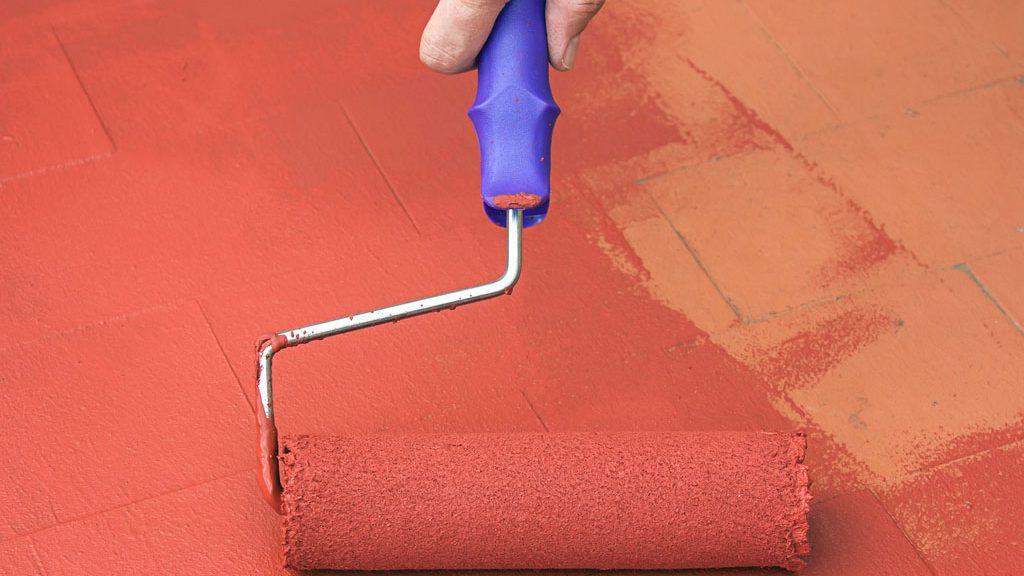 Onde usar tinta para piso em casa?