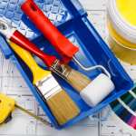 materiais para pintura de parede